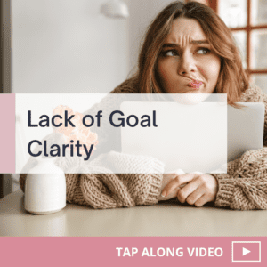 Tapping For Getting Clarity on Your Business Goals